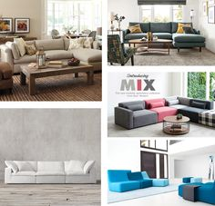 One tip to save on furniture? Go modular. You can always mix, match and turn your sofas into a bed and vice versa. http://www.apartmenttherapy.com/best-sectional-sofas-2016-229913