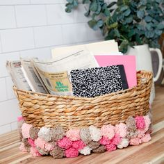 Yarnspirations is the spot to find countless free beginner craft patterns, including the Red Heart Pompom Storage Basket. Browse our large free collection of patterns & get crafting today! Crochet Men, All Free Crochet, Craft Patterns, Crochet Patterns, Red Heart Patterns, Wedding Candy, Red Heart Yarn, Joanns Fabric And Crafts, Diy Projects To Try