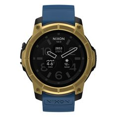 Mission ready. Check out this custom Nixon Mission smartwatch I designed.