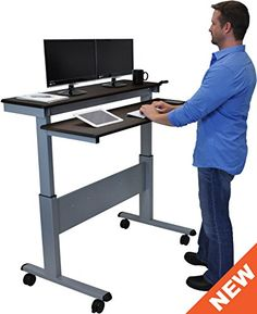 Sit To Stand Stand Up Desk And Steel Frame On Pinterest