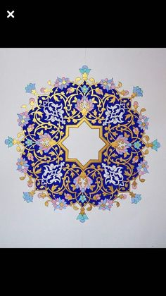 Arabic Calligraphy Art, Arabic Art, Islamic Art Pattern, Pattern Art, Mandala Design, Mandala Art, Motif Oriental, 4 Wallpaper, Illumination Art