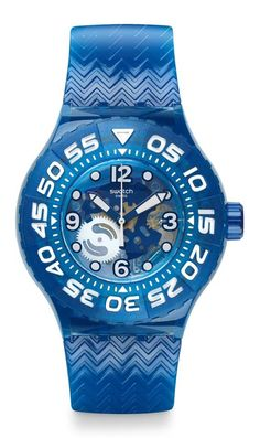 Blue the scuba... from Swatch