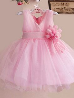 Pretty pink glamorous dress