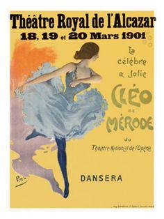 Cleo de Merode Giclee Print | By PAL (Jean de Paleologue) | Item #: 12907262A