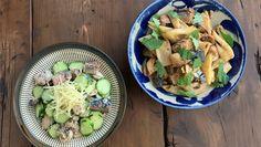 料理雑誌や書籍でのレシピ提案のほか、映画やドラマの料理の監修なども手掛けるぬまたあづみさん。今回は、さば缶と野菜を使った簡単レシピを2つ紹介していただきます。さば水煮缶のきゅうりあえさばの水煮缶と塩もみきゅうりを合わせ、 Potato Salad, Potatoes, Diet, Cooking, Ethnic Recipes, Food, Kitchen, Potato, Essen