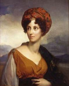 1816 Duchesse de Dino by François Gérard (château de Valençay - Valençay, Indre department France) | Grand Ladies | gogm