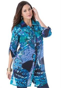 "Plus Size ""Tess"" Tunic"