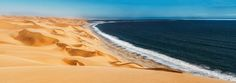 The Sandwich Harbour, Namibia - The Sandwich Harbour, a marvel to the eyes. Must see. Namib desert is easily the most beautiful desert in the world. Here's proof.
