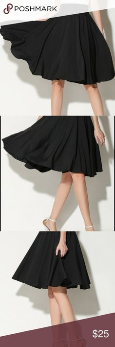 Black High Waisted Skirt (Never Worn!!!) Perfect for the office or a night out of dancing! Skirts