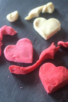This easy playdoh recipe has only a few ingredients and a couple steps. It's ready in minutes! Little Valentine, Valentines Day, Funny Valentine, Easter Activities, Activities For Kids, Poppy And Branch, Holiday Crafts For Kids, Kids Crafts, Troll Party