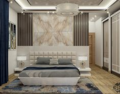 Master Bed Room Design In Cairo . on Behance The Effective Pictures We Offer You About italian bedroom furniture A quality picture can tell you many things. You can find the most beautiful pictures th Bad Room Design, Room Design Bedroom, Wardrobe Design Bedroom, Bedroom Cupboard Designs, Master Bedroom Interior, Bedding Master Bedroom, Bedroom Furniture Design, Modern Bedroom Design, Bedroom Layouts