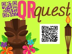 Ladybug's Teacher Files: QR Quest Poster tutorial for getting and putting QR codes onto a poster. Ladybug Teacher Files, Train Activities, Poster Maker, Thing 1, Play To Learn, Qr Codes, Coding, App, Teaching