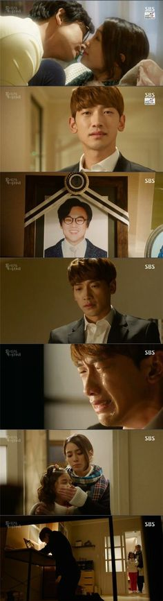 """[Spoiler] """"Please Come Back, Mister"""" Rain, cries in front of his funeral picture @ HanCinema :: The Korean Movie and Drama Database"""