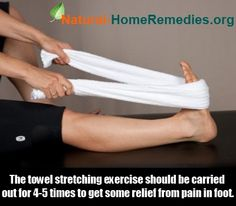 Natural Home Remedies Buzz - http://www.natural-homeremedies.org/buzz/different-exercises-for-plantar-fasciitis/