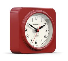 Biscuit Alarm Clock in Box Red design by Newgate