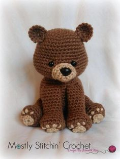 Bear Pattern; Black, Brown, Polar Bear | Craftsy