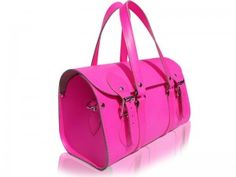 Alex Gerrard SPOTTED with a Neon PinK Satchel Bag from Spoiled Brat   Spoiled Brat Fashion Blog