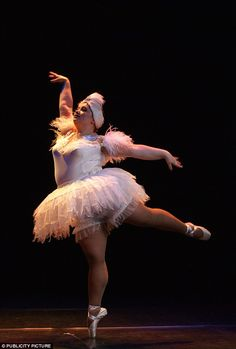 """""""The Big Ballet is a troupe of dancers from Russia who weigh a minimum of 220 pounds each. Let's not pretend you need to be a certain weight to be able to perform fouetté en tournant."""" More here: http://abcnews.go.com/WNT/International/story?id=2999487"""