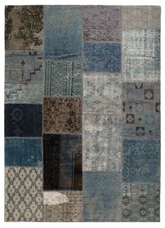 Find out all of the information about the STEPEVI product: contemporary rug / patchwork / wool / rectangular HARVEST : TEAL. Patchwork Rugs, Rugs On Carpet, Cool Furniture, Harvest, Quilts, Abstract, Modern, Contemporary, Vintage