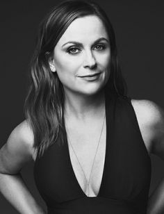 Stars of the new film 'Sisters', Tina Fey and Amy Poehler, land the January 2016 cover of Glamour Magazine. Both dress in black pants look… Amy Poehler, Tina Fey, Androgynous Girls, Glamour Magazine, Badass Women, Celebs, Celebrities, Nicole Miller, Celebrity Weddings