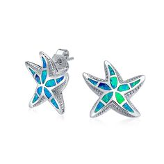 Checkout Cute Starfish Studs at BlingJewelry.com