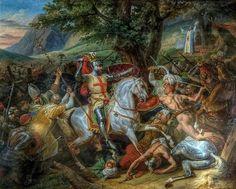 BATALHA DE NAVAS DE TOLOSA - D. Afonso II não contestou as suas fronteiras com Galiza e Leão, nem procurou a expansão para Sul apesar de algumas cidades terem sido tomadas aos Mouros: Alcácer do Sal, Borba, Vila Viçosa, Veiros, em 1217, e, também Monforte e Moura por iniciativa de um grupo de nobres liderados pelo bispo de Lisboa. Sem grandes preocupações militares, enviou tropas portuguesas que, ao lado de castelhanas, aragonesas e francesas, que combateram bravamente na defesa  (cont.1)
