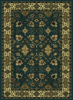 Details: Brand: Radici USA Collection: Castello Style: Design: 460 Origin: Italy Material: Olefin Description: Beautiful Machine Made Area Rugs made of durable and easy to clean olefin. Made using a heat-set technique to ensure a soft touch. Oriental Design, Oriental Rug, Synthetic Rugs, Floral Border, Carpet Design, Rug Making, Throw Rugs, Blue Area Rugs, Bohemian Rug
