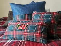 Tartanplaid pillow case for your Christmas decorations or through all seasons... #pillow #pillowcases  #tartanplaid #christmas #christmasgifts #christmasdecor