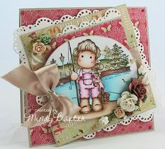 Magnolia beauty from Stampin' Mindy