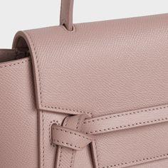 Nano Belt bag in grained calfskin - Pink. Buy the lastest BELT BAG on the official CELINE website Celine Belt Bag, Luxury Belts, Fragrance Samples, Replacement Lenses, Satchel, Beige, Pink, Accessories, Women