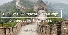Chinese Government Scholarships For International Students http://www.sclrship.com/phd/chinese-government-scholarships-international-students #sclrship #onlineDegree