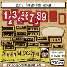 TONS of Boy Scout, Cub Scout and Tiger Cub Scout digi downloads {free}!!!! $0