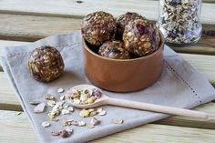 Forget snack bars that are really just candy bars in disguise. Make your own no-bake energy balls instead. Photo credit: Shutterstock.com