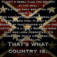 Luke Bryan ~ That's What Country Is