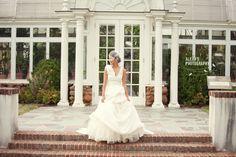 Gorgeous bridal session in Winston Salem, NC