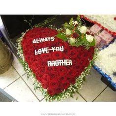 Funeral Condolences :: Funeral Arrangements :: Specialist Shapes :: Grand Prix rose luxury rose heart -