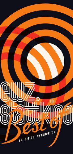Best of ewz. Film Festival Poster, Graphic Design Posters, Chicago Cubs Logo, Booklet, Home Art, Team Logo, Festivals, Logos, Movie