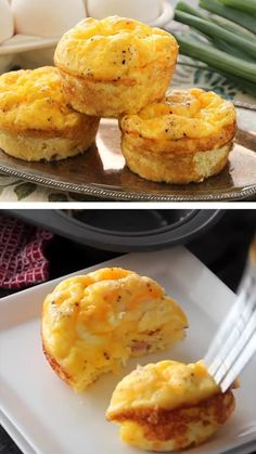 A quick and easy egg muffin recipe for breakfast! It is so delicious and perfect to grab on the way out the door! Make this Egg Muffin Recipe for a delicious breakfast recipe today! recipes for breakfast easy video Ham & Cheese Egg Muffin Recipe Breakfast And Brunch, Egg Recipes For Breakfast, Delicious Breakfast Recipes, Breakfast Dishes, Brunch Recipes, Perfect Breakfast, Brunch Ideas, Breakfast Egg Muffins, Recipes For Lunch