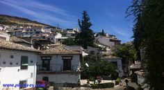 Sacromonte caves in Granada Spain by piccavey  Click to read a 72 hour guide to this Spanish city