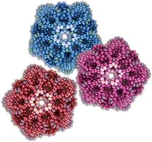 Bead Layered Flower Pattern by Sandra D. Halpenny at Bead-Patterns.com