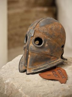 Gladiator or executioner's helmet