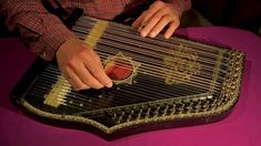 """Dream"" played on a German 5-Chord Zither by Etienne de Lavaulx"