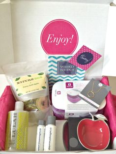 My favorite monthly subscription box! Popsugar must have box!