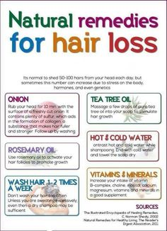 Natural hair remedies