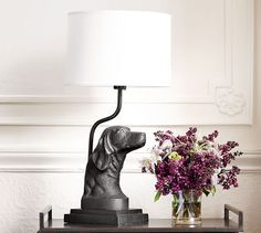 Ken Fulk Retriever Table Lamp Base | Pottery Barn