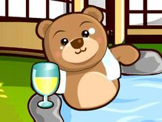 Funny game with Bears in Spa Salon Funny Games, Games For Girls, Spa,