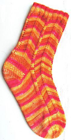Traffic Island Socks by Nicola W - free