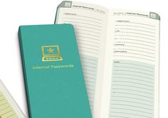 A notebook to keep track of each and every one of your passwords. | 33 Products Under $15 That Are Basically Already In Your Shopping Cart