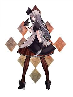Day 27- Character you wouldn't want to run into in a dark alley. Belarus. If she scares Russia then I might literally die.