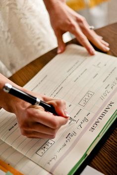 Wedding Tasks You Shouldn't Leave Until the Last Minute!